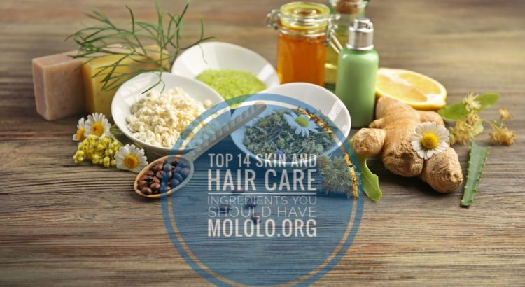 skin and hair ingredients | Mololo cosmetics