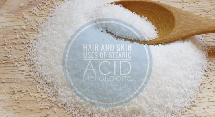 uses of stearic acid | Mololo Cosmetics
