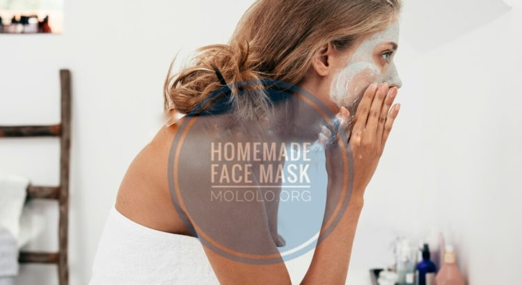 homemade face mask | mololo.org