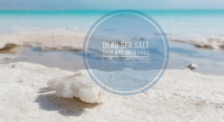 dead sea salt uses | mololo cosmetics